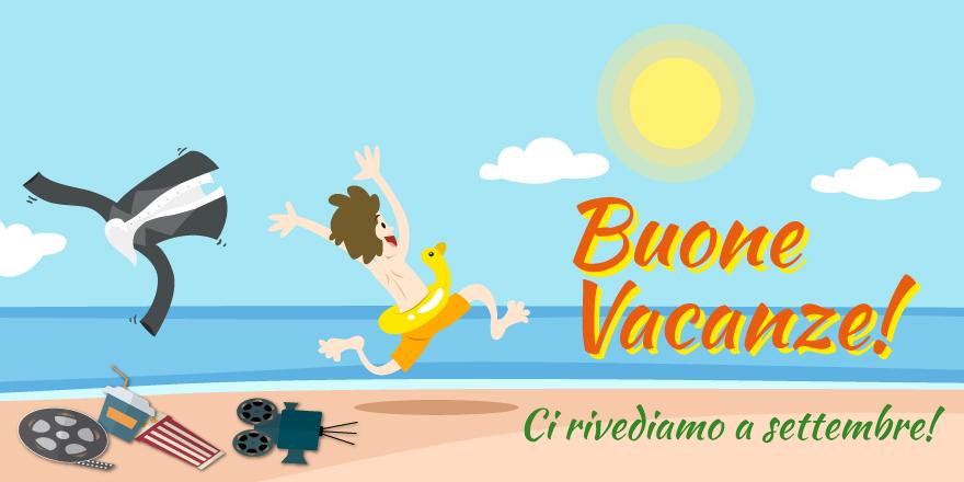 Chiusura stagionale- Buone vacanze!